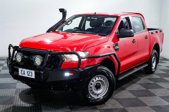 Used Ford Ranger PX MkII XL Edgewater, 2017 Ford Ranger PX MkII XL Red/Black 6 Speed Sports Automatic Utility