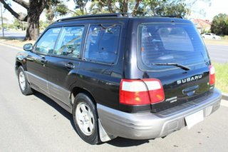 2000 Subaru Forester 79V MY01 GX AWD Black 5 Speed Manual Wagon