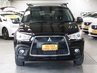 2010 Mitsubishi ASX XA MY11 Aspire Black 6 Speed Manual Wagon.