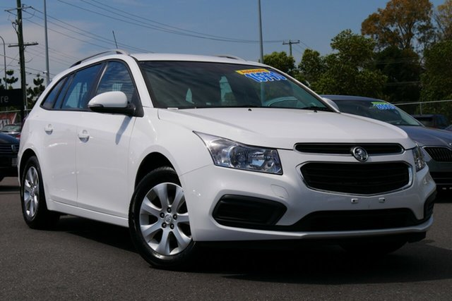 Used Holden Cruze JH Series II MY16 CD Sportwagon Hillcrest, 2016 Holden Cruze JH Series II MY16 CD Sportwagon White 6 Speed Sports Automatic Wagon