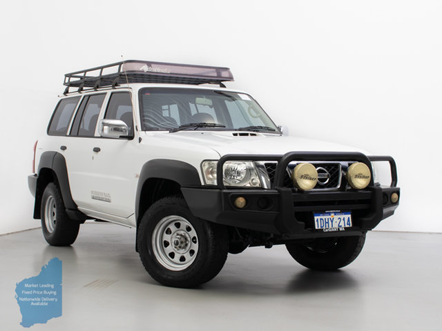 Used Nissan Patrol GU IV MY07 DX (4x4), 2007 Nissan Patrol GU IV MY07 DX (4x4) White 5 Speed Manual Wagon