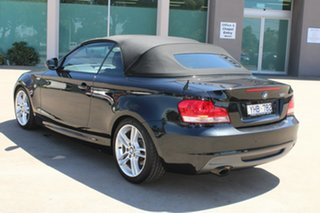 2011 BMW 120i E88 MY11 Black 6 Speed Automatic Convertible
