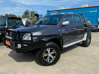 2008 Toyota Hilux KUN26R MY08 SR5 Grey 4 Speed Automatic Utility.