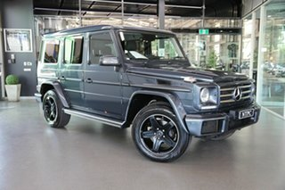 2017 Mercedes-Benz G-Class W463 MY808 G350 d 7G-Tronic + 4MATIC Grey 7 Speed Sports Automatic Wagon.