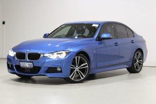 2016 BMW 320d F30 LCI M Sport Blue 8 Speed Automatic Sedan.