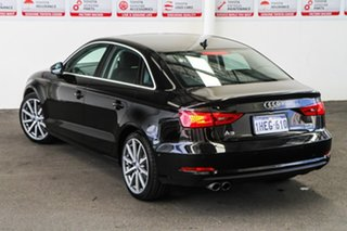 2015 Audi A3 8V MY15 1.8 TFSI Ambition Quattro Black 6 Speed Direct Shift Sedan.