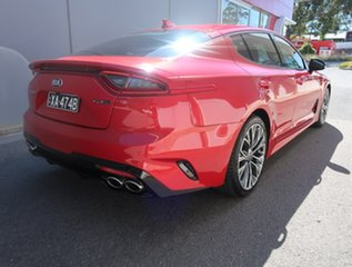 2017 Kia Stinger CK MY18 GT-Line Fastback Red 8 Speed Sports Automatic Sedan