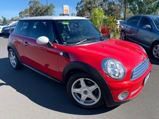 2007 Mini Hatch R56 Cooper Red 6 Speed Sports Automatic Hatchback.