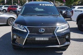 2013 Lexus RX GGL15R MY12 RX350 F Sport Black 6 Speed Sports Automatic Wagon.