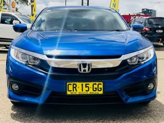 2018 Honda Civic 10th Gen MY18 VTi-L Blue 1 Speed Constant Variable Hatchback