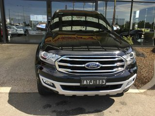 2018 Ford Everest UA II MY19 Titanium (4WD 7 Seat) Black 10 Speed Auto Seq Sportshift SUV.