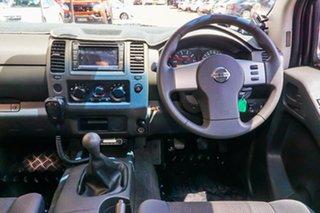 2012 Nissan Navara D40 S6 MY12 RX 4x2 Silver 6 Speed Manual Utility