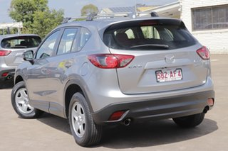 2014 Mazda CX-5 KE1071 MY14 Maxx SKYACTIV-MT Silver 6 Speed Manual Wagon.