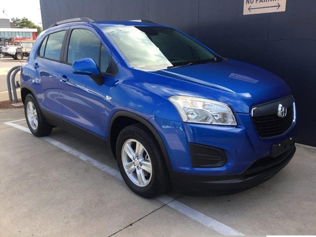 Used Holden Trax TJ MY14 LS Stuart Park, 2014 Holden Trax TJ MY14 LS Blue 5 Speed Manual Wagon