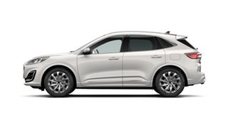 2020 Ford Escape ZH 2020.75MY Vignale White Platinum 8 Speed Sports Automatic SUV.