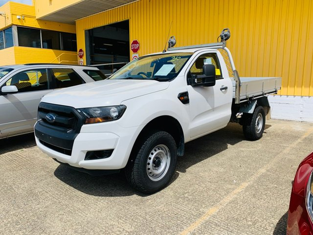Used Ford Ranger PX XL Canning Vale, 2015 Ford Ranger PX XL White 6 Speed Manual Cab Chassis