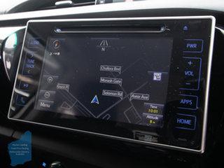 2018 Toyota Hilux GUN126R MY17 SR5 (4x4) White 6 Speed Automatic Dual Cab Utility