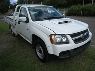 2010 Holden Colorado RC MY10 LX (4x2) White 5 Speed Manual Cab Chassis