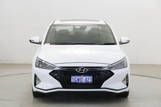 2019 Hyundai Elantra AD.2 MY19 Sport DCT Premium Polar White 7 Speed Sports Automatic Dual Clutch.