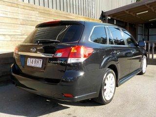 2010 Subaru Liberty B5 MY11 2.5i Lineartronic AWD Black 6 Speed Constant Variable Wagon.