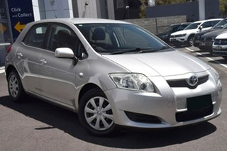 2007 Toyota Corolla Ascent Silver 4 Speed Automatic Hatchback.