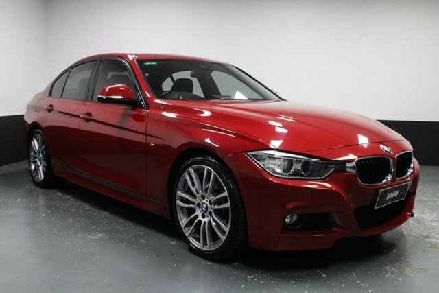 Used BMW 3 Series F30 MY1112 328i Cardiff, 2013 BMW 3 Series F30 MY1112 328i Melbourne Red 8 Speed Sports Automatic Sedan