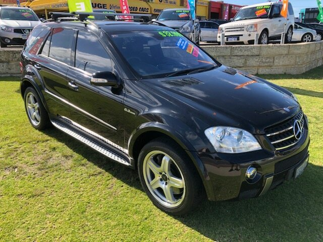 Used Mercedes-Benz M-Class W164 ML63 Wangara, 2006 Mercedes-Benz M-Class W164 ML63 Black 7 Speed Sports Automatic Wagon