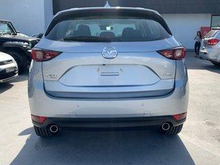 2017 Mazda CX-5 KF4WLA GT SKYACTIV-Drive i-ACTIV AWD Silver 6 Speed Sports Automatic Wagon.