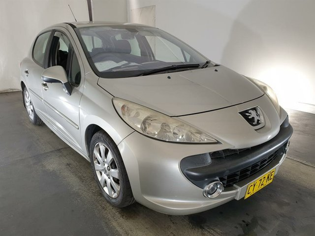 Used Peugeot 207 A7 XT Maryville, 2007 Peugeot 207 A7 XT Grey 5 Speed Manual Hatchback