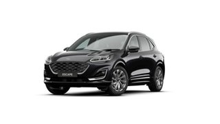 2020 Ford Escape ZH 2021.25MY Vignale Black 8 Speed Sports Automatic SUV.