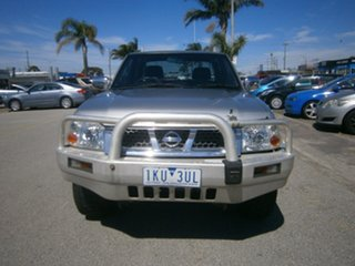 2005 Nissan Navara D22 S2 ST-R Silver 5 Speed Manual Utility.