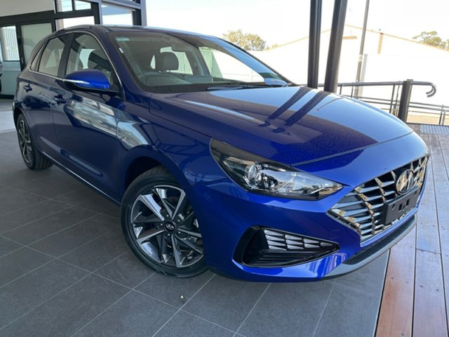 New Hyundai i30 Elite Gladstone, 2020 Hyundai i30 PD.V4 Elite Blue Automatic Hatchback