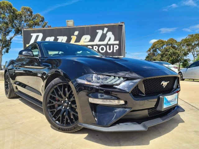 Used Ford Mustang GT Goulburn, 2018 Ford Mustang GT Shadow Black Sports Automatic Fastback