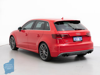 2014 Audi S3 8V MY14 2.0 TFSI Quattro Red 6 Speed Direct Shift Hatchback