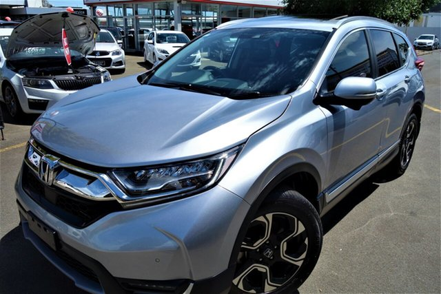 Used Honda CR-V RW MY18 VTi-LX 4WD Seaford, 2017 Honda CR-V RW MY18 VTi-LX 4WD Silver 1 Speed Constant Variable Wagon