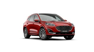 2020 Ford Escape ZH 2021.25MY Vignale Red 8 Speed Sports Automatic SUV