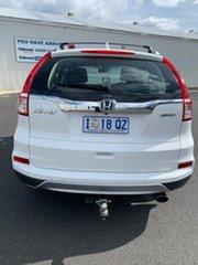 2016 Honda CR-V RM Series II MY17 VTi 4WD White 5 Speed Sports Automatic Wagon