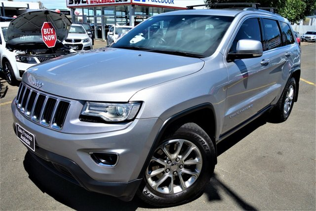 Used Jeep Grand Cherokee WK MY2014 Laredo Seaford, 2013 Jeep Grand Cherokee WK MY2014 Laredo Silver 8 Speed Sports Automatic Wagon