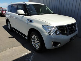 2018 Nissan Patrol Y62 Series 4 TI 7 Speed Sports Automatic Wagon.