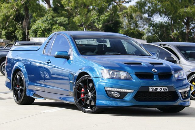 Used Holden Special Vehicles Maloo E3 MY12.5 Chullora, 2013 Holden Special Vehicles Maloo E3 MY12.5 Blue 6 Speed Automatic Utility