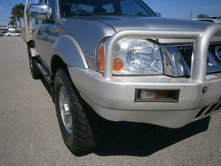 2005 Nissan Navara D22 S2 ST-R Silver 5 Speed Manual Utility
