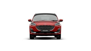 2020 Ford Escape ZH 2021.25MY Vignale Red 8 Speed Sports Automatic SUV.