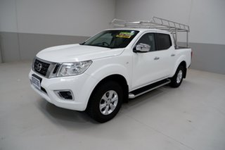 2017 Nissan Navara D23 S2 ST 4x2 White 7 Speed Sports Automatic Utility.