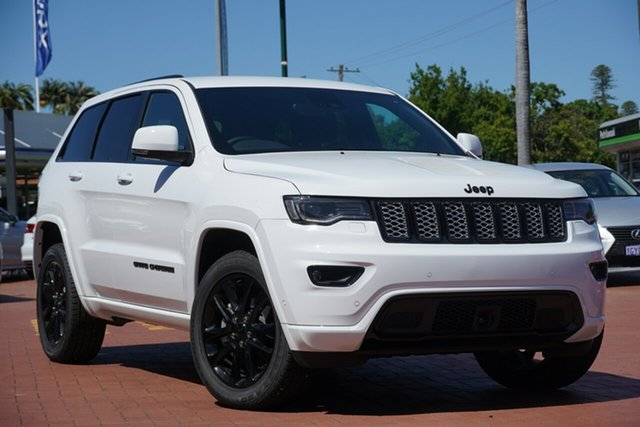 Used Jeep Grand Cherokee WK MY20 Night Eagle Victoria Park, 2020 Jeep Grand Cherokee WK MY20 Night Eagle Bright White 8 Speed Sports Automatic Wagon