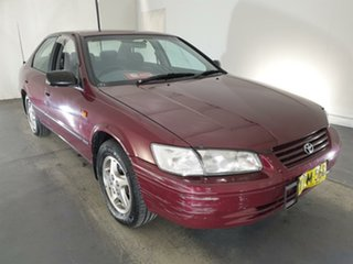 1999 Toyota Camry MCV20R Touring Red 4 Speed Automatic Sedan.