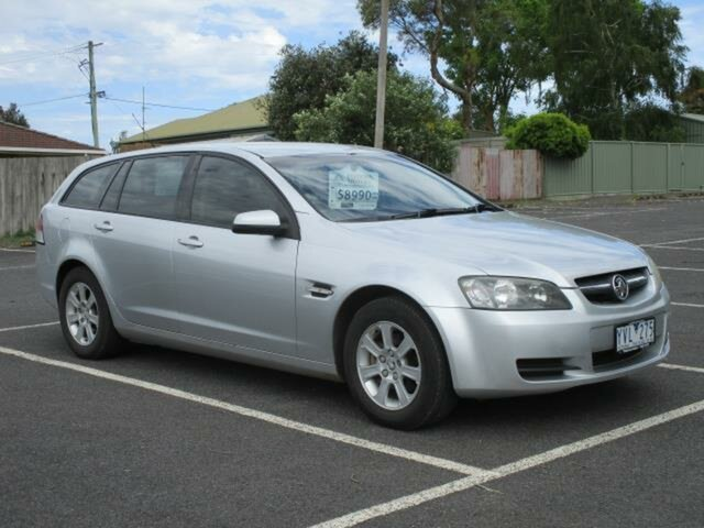Used Holden Commodore VE Omega Timboon, 2008 Holden Commodore VE Omega Silver Automatic Sportswagon