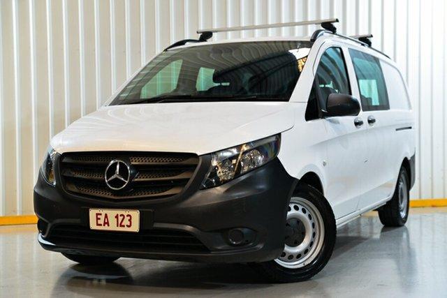 Used Mercedes-Benz Vito 447 119BlueTEC Crew Cab LWB 7G-Tronic + Hendra, 2017 Mercedes-Benz Vito 447 119BlueTEC Crew Cab LWB 7G-Tronic + White 7 Speed Sports Automatic Van