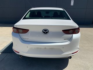 2020 Mazda 3 BP2S7A G20 SKYACTIV-Drive Pure Snowflake White 6 Speed Sports Automatic Sedan