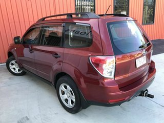 2008 Subaru Forester S3 MY09 X AWD Red 5 Speed Manual Wagon.