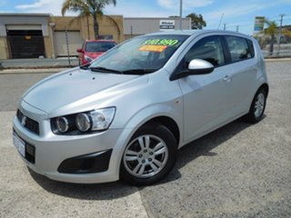 2016 Holden Barina TM MY16 CD Silver 6 Speed Automatic Hatchback.